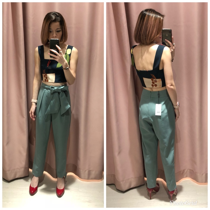 28fda4bfd015f9 When I first saw this pair of pants, I thought it looks very similar to the  old Pamaina peg pants which was hot favourites last time among the ladies  but ...
