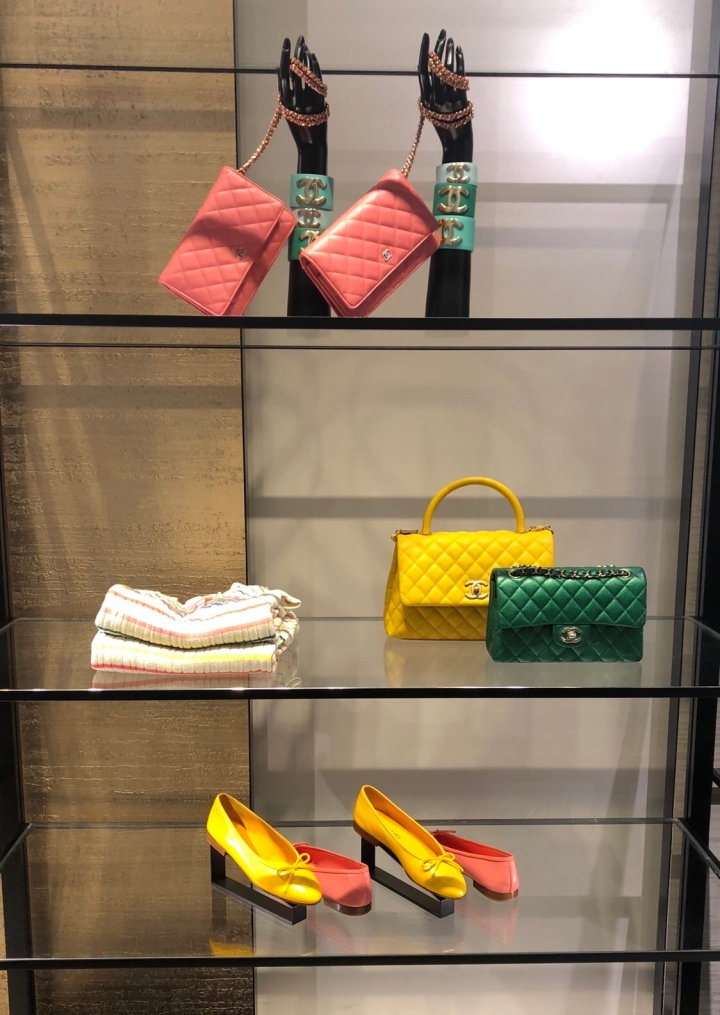 428c736a92a3 Chanel just launched their latest Spring/Summer Collection at NAC (Ngee Ann  City) on Wednesday and MBS on Thursday! It's always so enjoyable to check  out ...